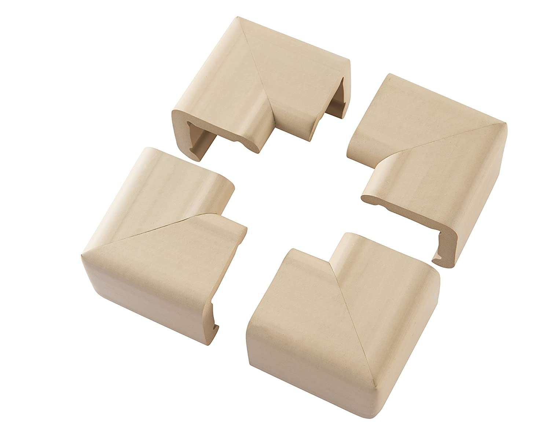 Clevamama XL Corner Cushions, Beige 1102