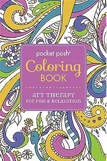 Amazon.com: Pocket Posh Adult Coloring Book: Pretty Designs for ...