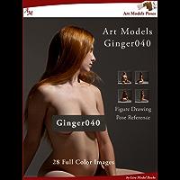 Art Models Ginger040: Figure Drawing Pose Reference (Art Models Poses)