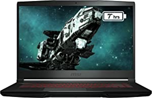 "MSI GF63 Thin 9SCX-005 15. 6"" FHD Gaming Laptop Intel Core i5-9300H GTX1650 8GB 256GB NVMe SSD Win10"