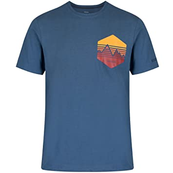 Regatta Mens Cline Coolweave Cotton Graphic T Shirt