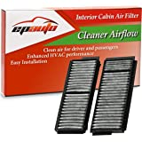 EPAuto CP218 (CF10218) Replacement for Mazda Premium Cabin Air Filter includes Activated Carbon