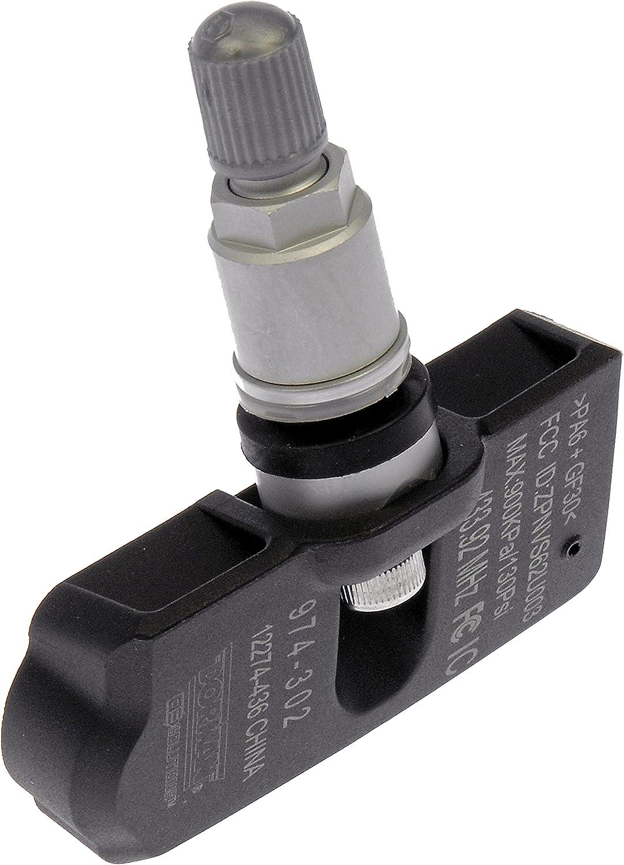 Dorman 974-302 Programmable Tire Pressure Monitoring System Sensor for Select Models