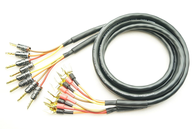高級品市場 MOGAMI 2972 2本ペア バイワイヤリング対応 (2m) 2本ペア バナナ-Yラグ付 スピーカーケーブル (4本-4本) (2m) B07FT19SQ8 MOGAMI 7m, 国分寺町:19e1f980 --- specialcharacter.co