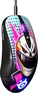 SteelSeries Sensei Ten Neon Rider Edition Gaming Mouse – 18,000 CPI TrueMove Pro Optical Sensor – Ambidextrous Design – 8 Programmable Buttons – 60M Click Mechanical Switches – RGB Lighting