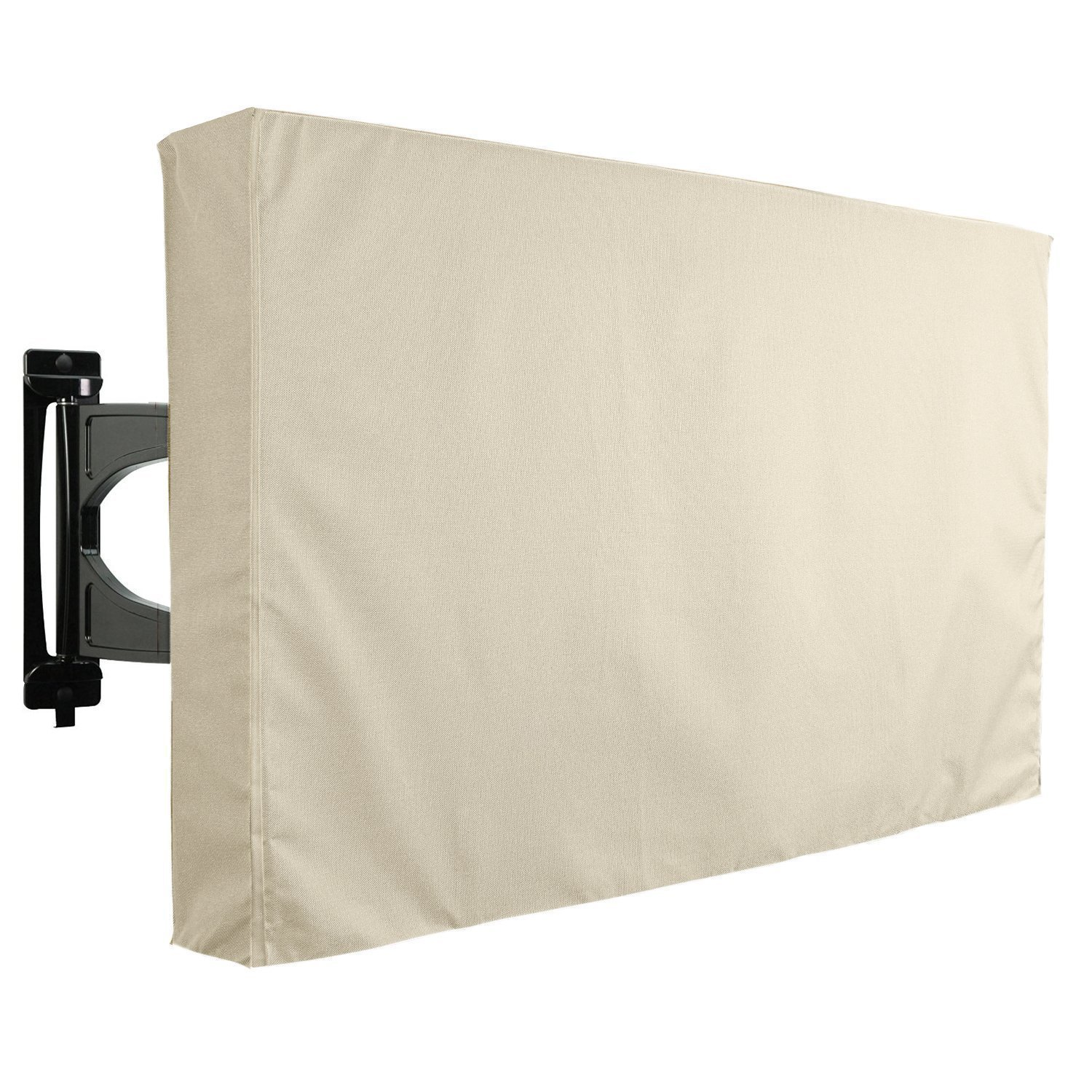 KHOMO GEAR Outdoor TV Cover - SAHARA Series - Universal Weatherproof  Protector For 50 - 52 Inch TV - Fits Most Mounts & Brackets