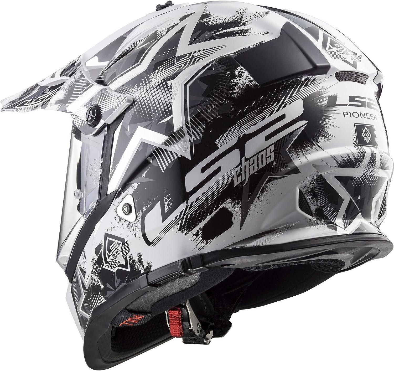 LS2 MX436 Pioneer Chaos Dual Sport Helmet
