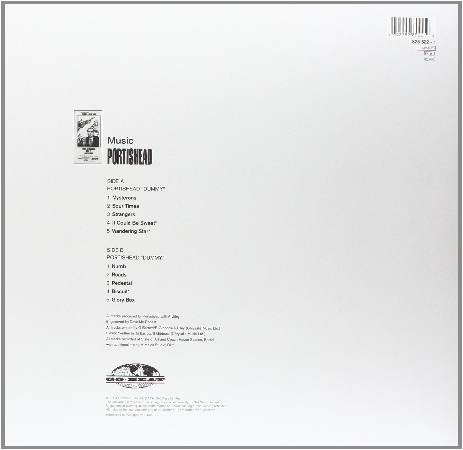 Dummy [180g Vinyl]