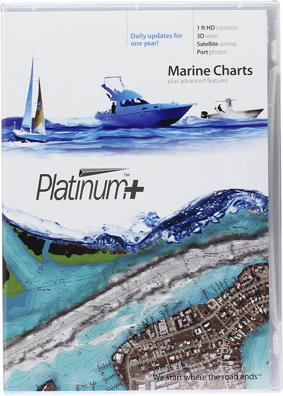 Navionics Platinum+ SD 638 Puget Sound Nautical Chart on SD/Micro-SD Card - MSD/638P+