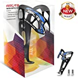 Arltb Aluminum Alloy Bike Water Bottle Holder Cage 4 Colors Ultralight 50g Bicycle Cycling Kettle Holder Cage Bracket Accessories for Mountain Bike - 2 Mounting screws included