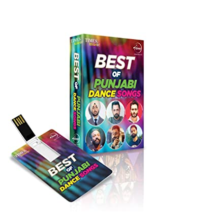 Music Card: Best of Punjabi Dance Songs - 320 Kbps Mp3 Audio (4 GB)