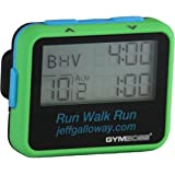 Gymboss Interval Timer and Stopwatch - GREEN JEFF GALLOWAY SOFTCOAT