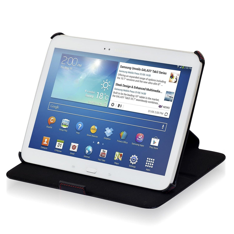 Manna MN60105 - Funda para tablet Samsung Galaxy Tab 3 con función de soporte & Easy Stand, negro