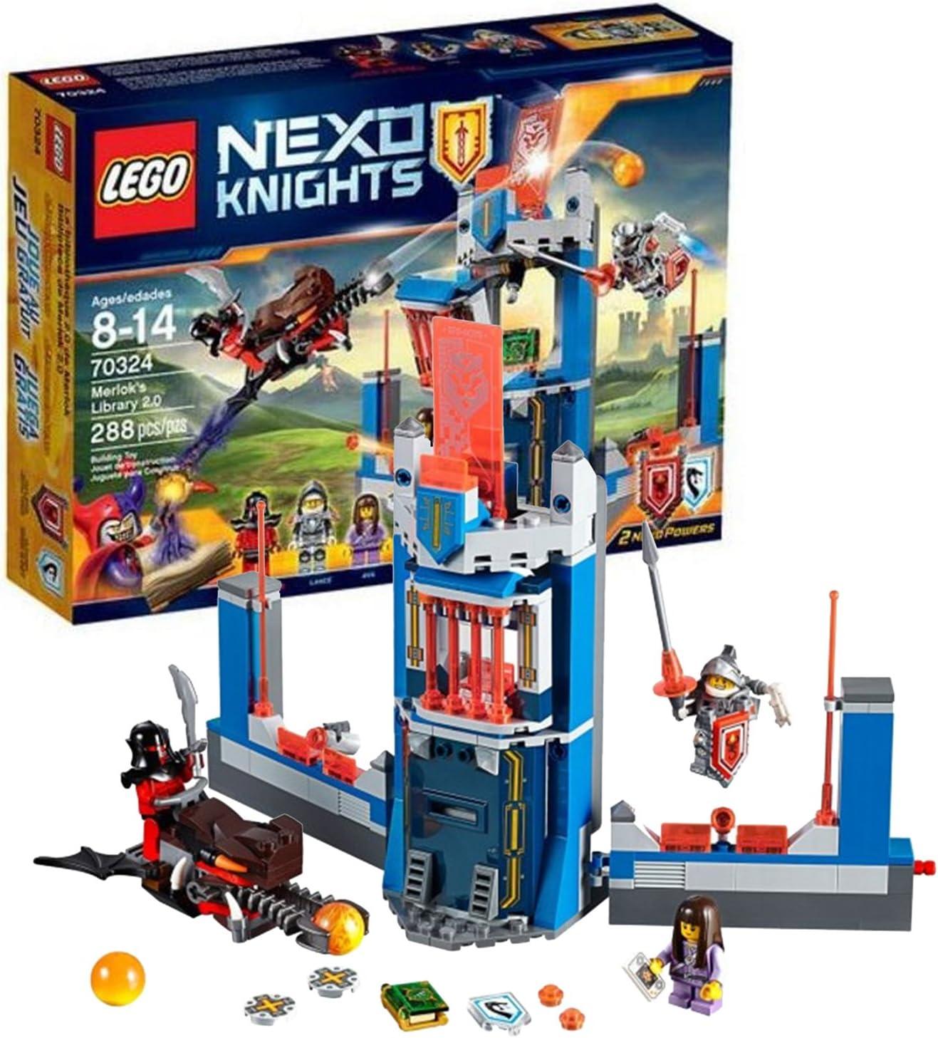 Lego nexo knights minifigurine-flama-lot kg nex054 new