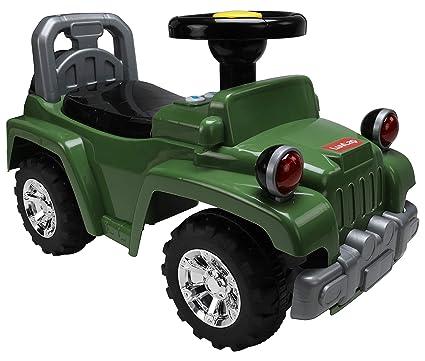 Luvlap Ranger Jeep Ride-On, Green