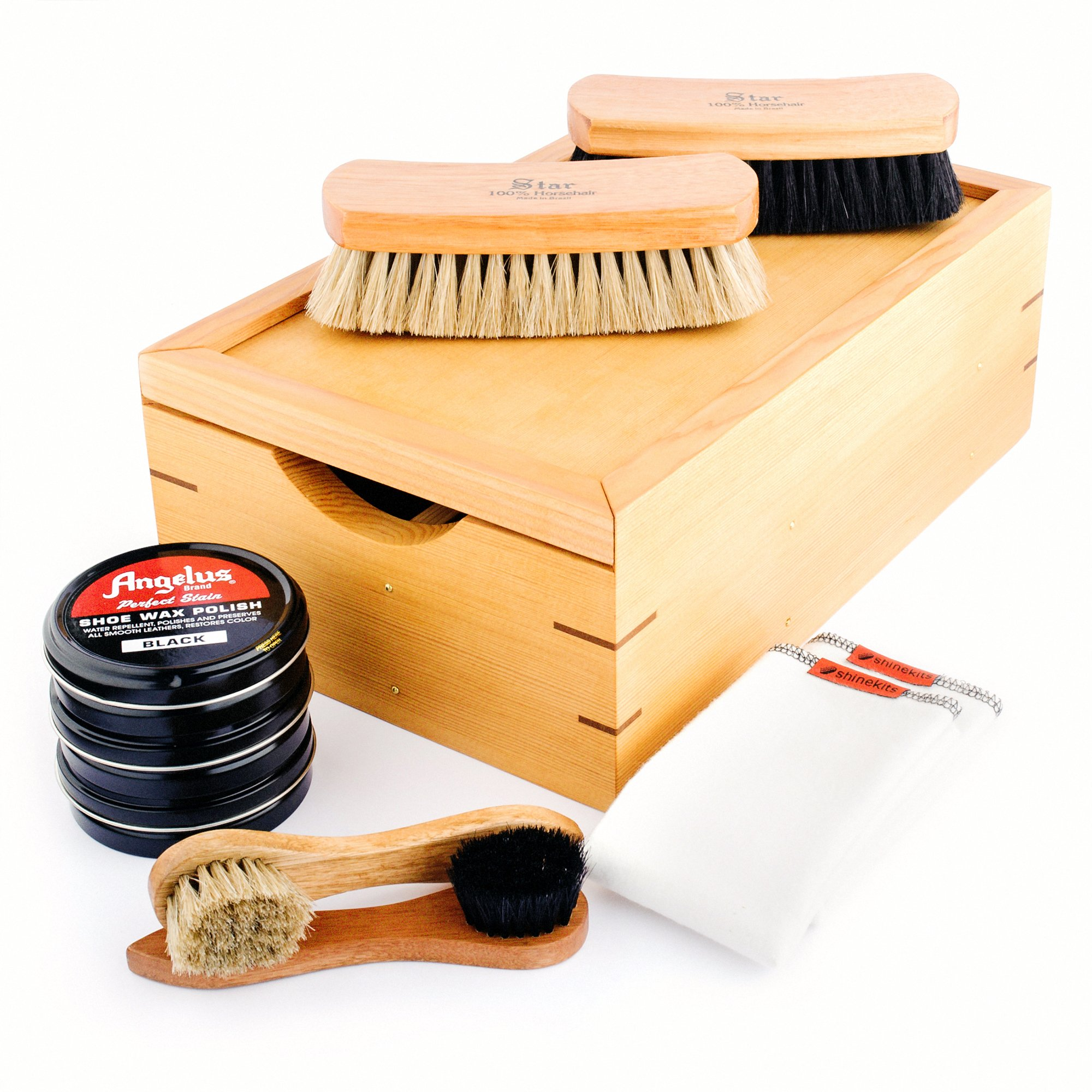 Shinekits Ultimate Shoe Shine Kit in Honey Finish by Shinekits (Image #1)