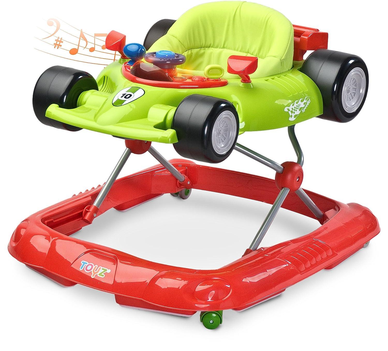 Beige Caretero Speeder Lauflernhilfe Gehhilfe Laufhilfe mit Spielcenter Toyz