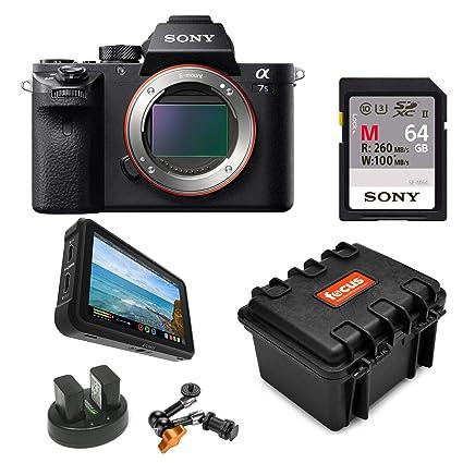 Amazon.com : Sony Alpha a7SII Mirrorless Digital Camera ...