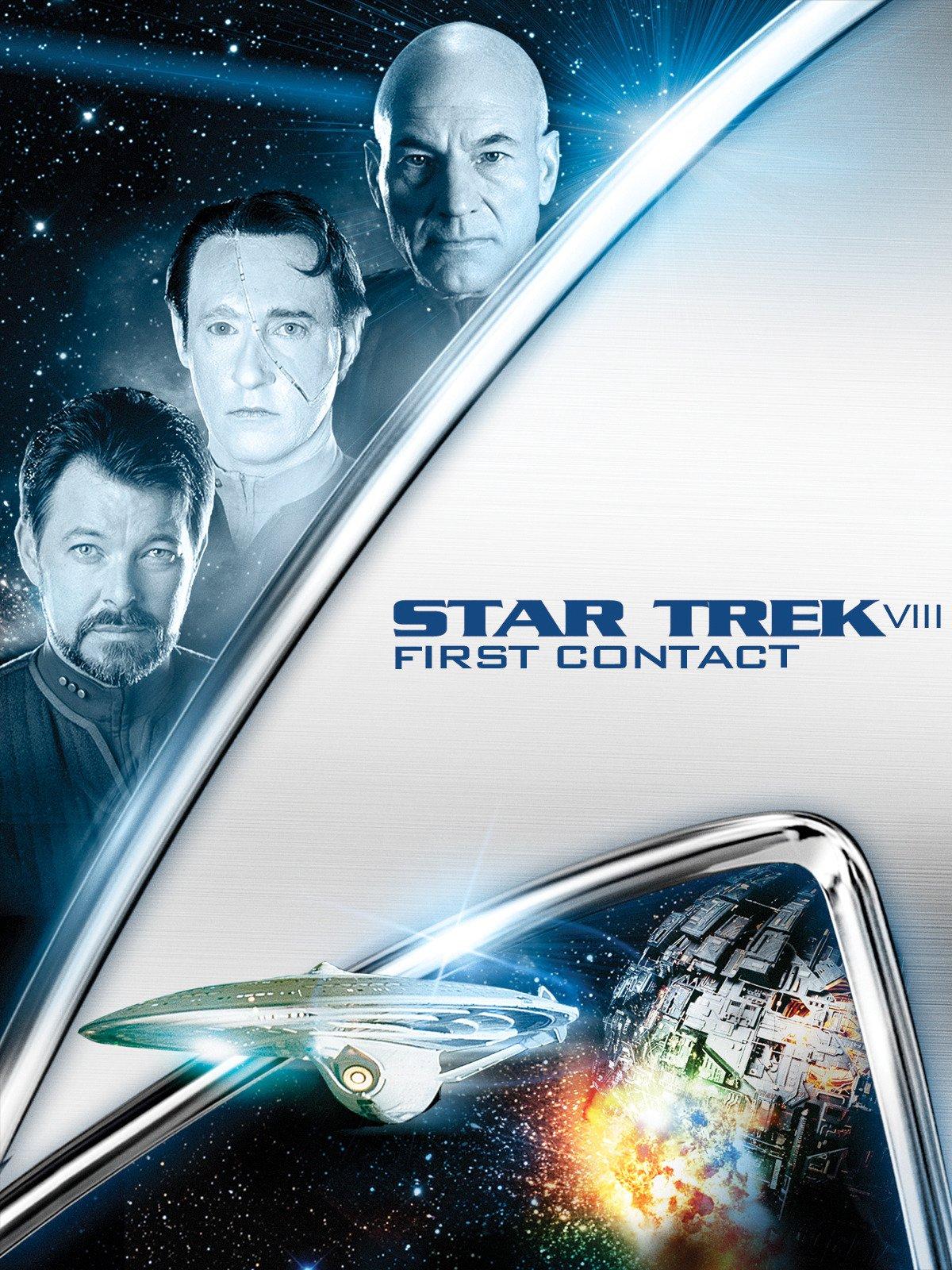 Amazon.com: Star Trek VIII: First Contact: Patrick Stewart, Jonathan ...