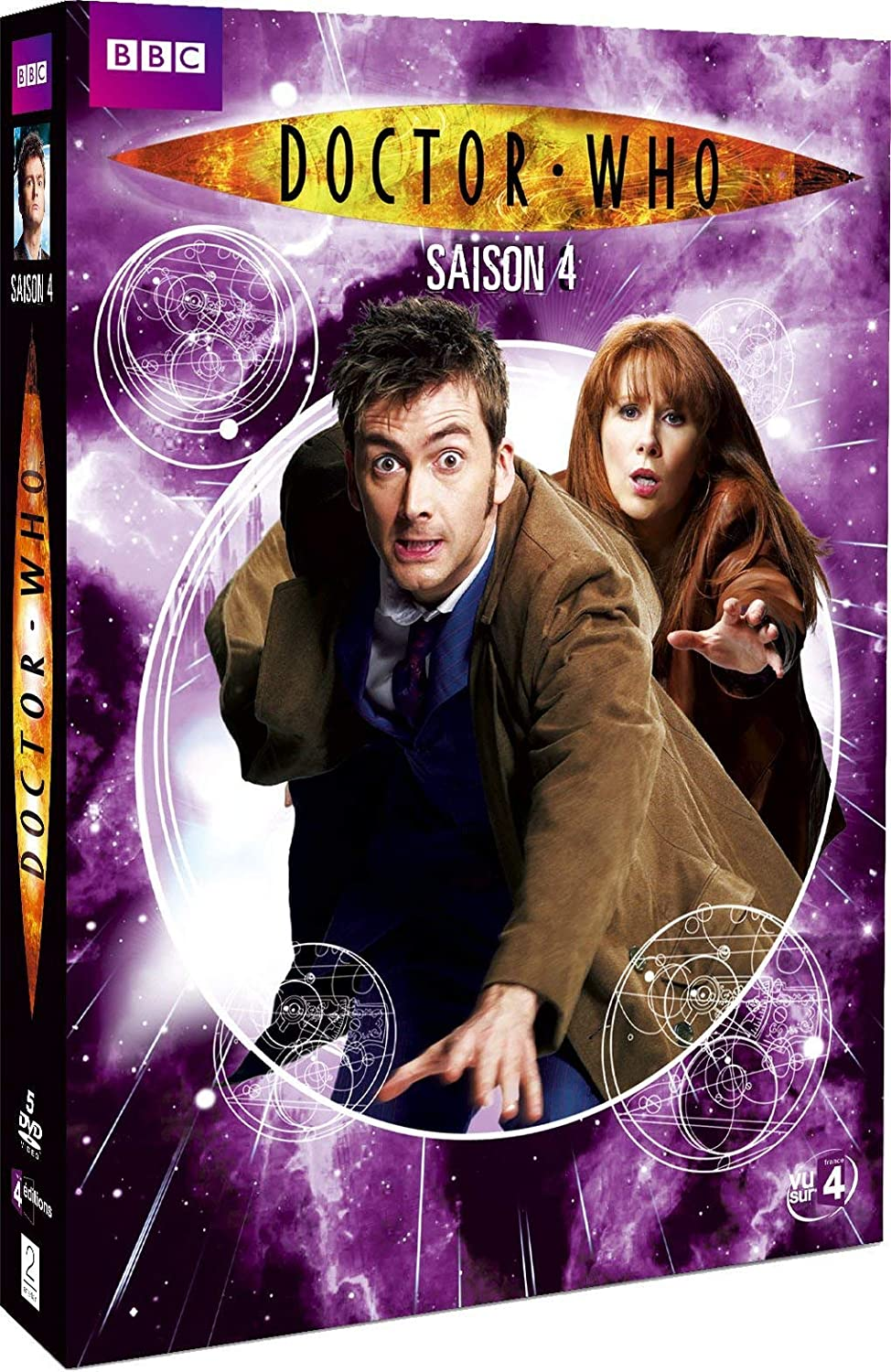 Doctor Who - Stagione 04 (4 Dvd) [Italia]: Amazon.es: Christopher ...