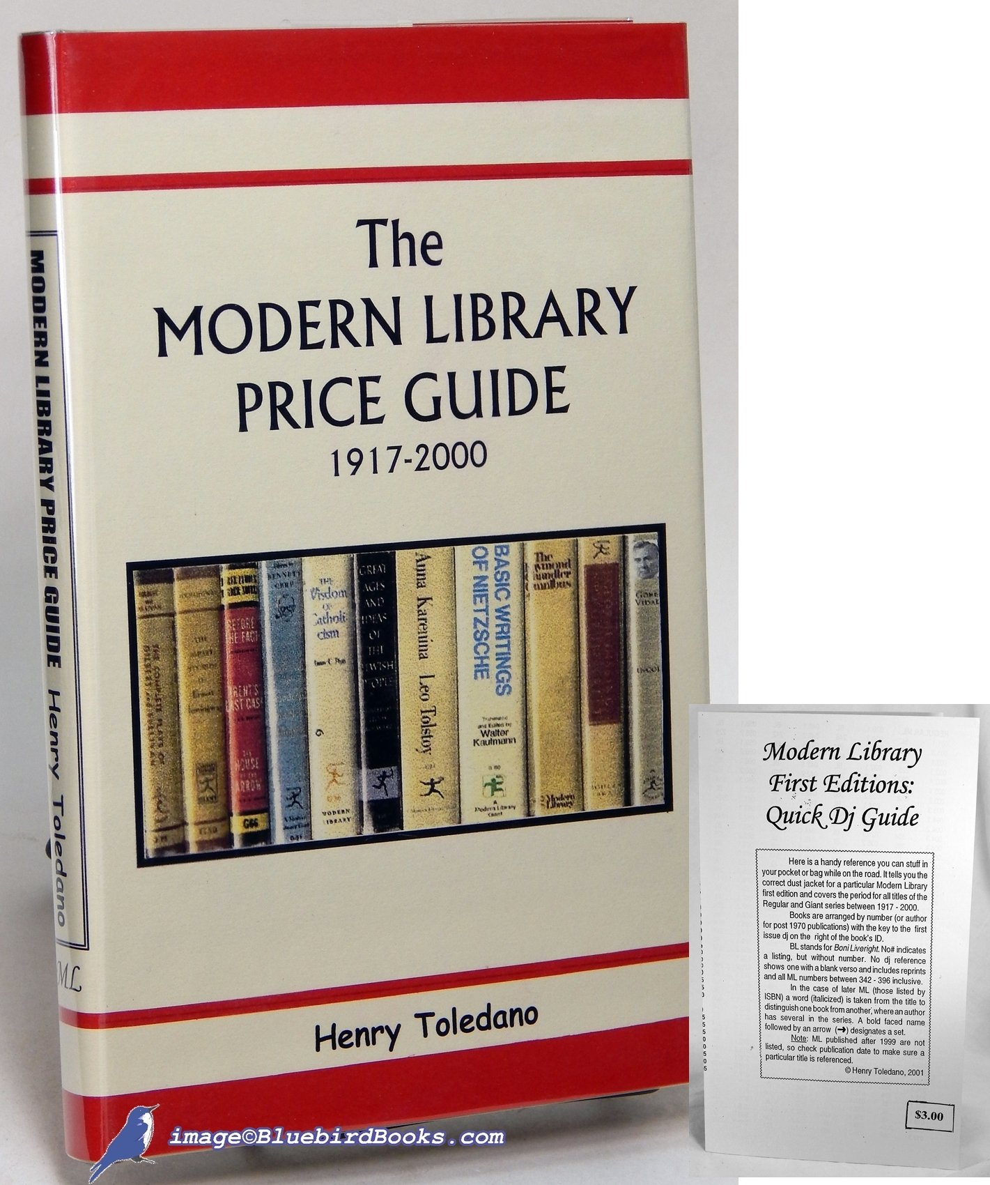 Henry toledano's modern library price guide.