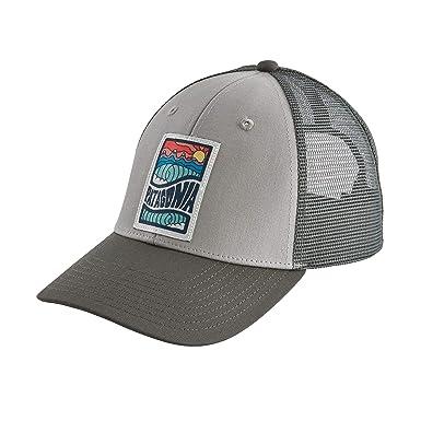 17b367e9 Amazon.com: Patagonia Cosmic Peaks LoPro Trucker Hat (Drifter Grey ...