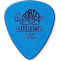Dunlop Tortex - Púas para guitarra, 12 unidades, 1.0mm | Blue, 1.0mm