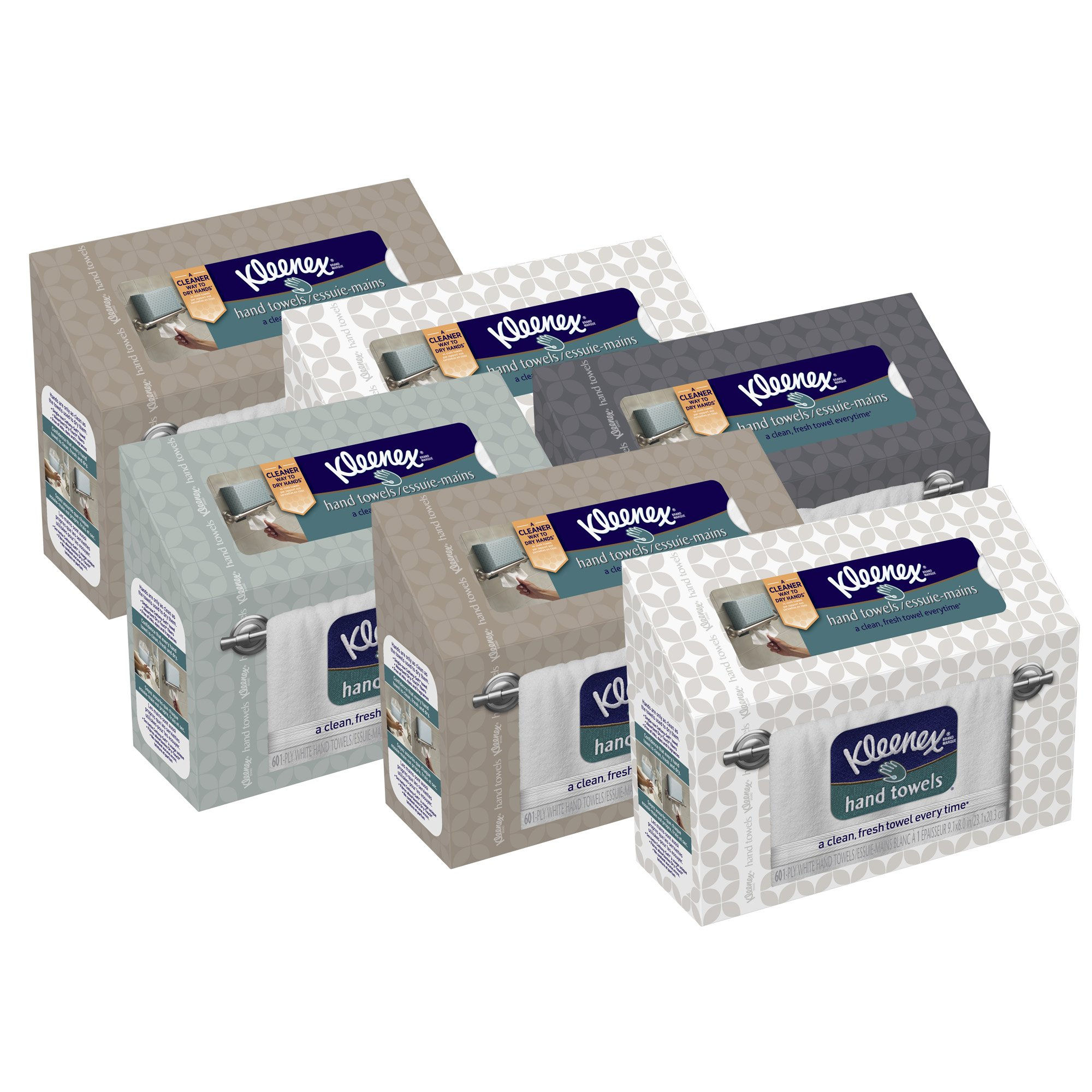 Kleenex Hand Towels 60 Ct(Pack Of 6) 16