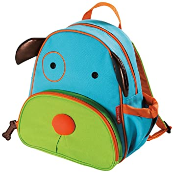 Amazon.com: Skip Hop Zoo Toddler Kids Backpack, Dog, Boy, Multi ...