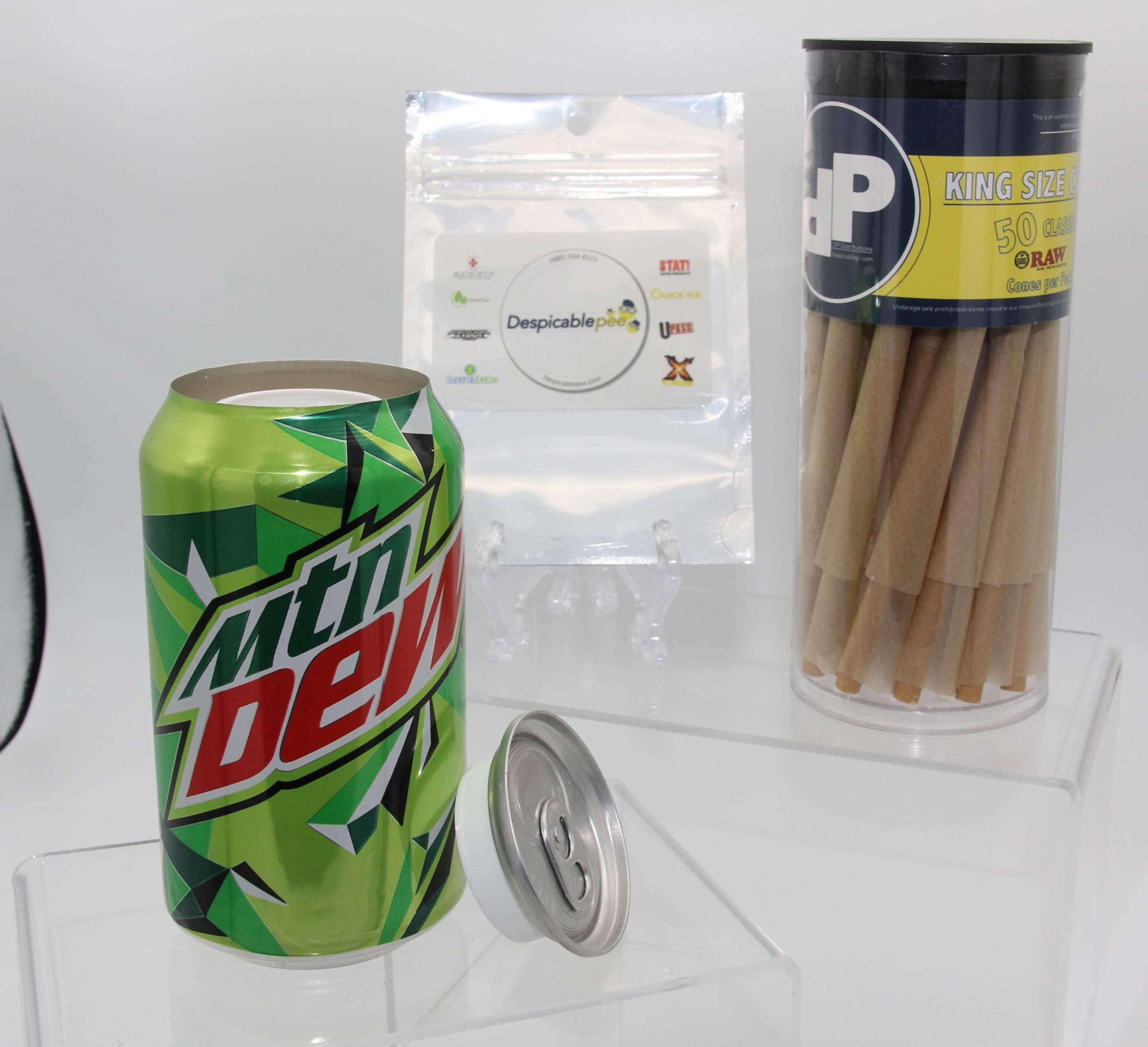 Mountain Dew Can Diversion Safe, 50ct DP Toob & Sac by DP Distributions