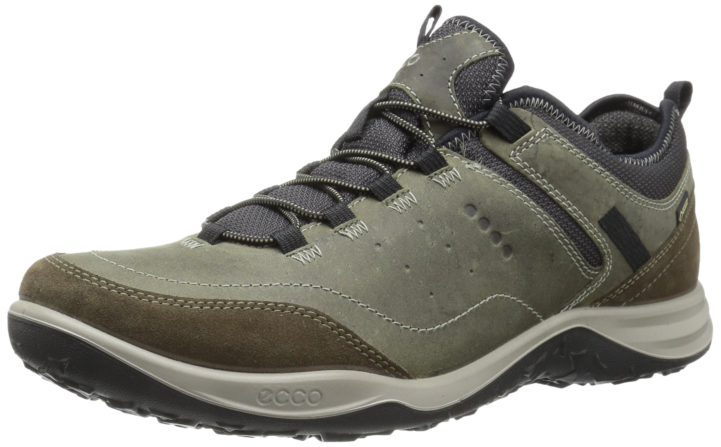 ECCO Men's Esphino GORE-TEX waterproof Hiking shoe, Tarmac/Tarmac, 44 EU / 10-10.5 US by ECCO