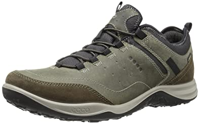 ECCO Men's Esphino Gore-Tex Light Hiking Shoe, Tarmac/Tarmac, 39 EU
