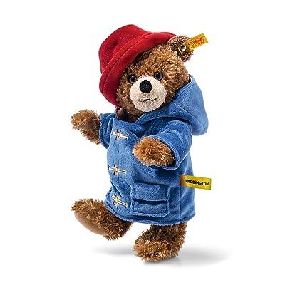 Steiff Plush Paddington Bear Officially Licensed Jointed Teddy - 28cm: Toys & Games