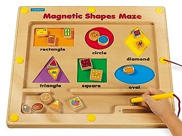 Amazoncom Lakeshore Magnetic Shapes Maze Toys Games