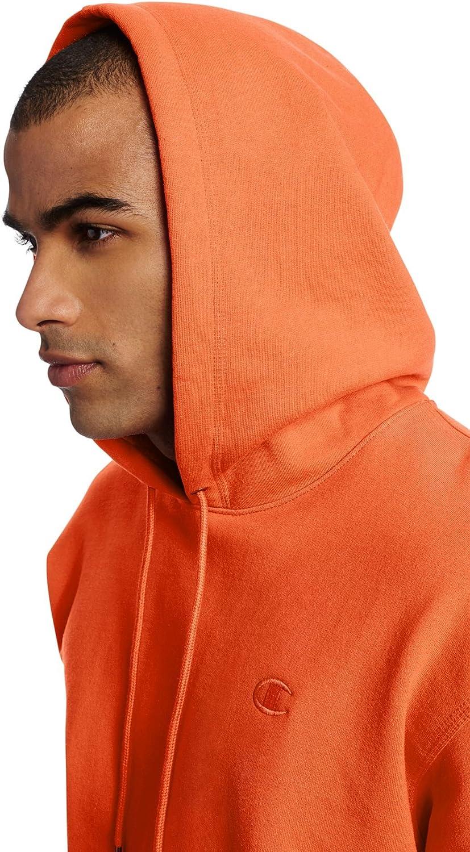Champion Men's Powerblend Fleece Pullover Hoodie: Clothing