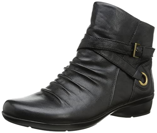 Women's Naturalizer, Cycle low heel ankle boots BLACK ...