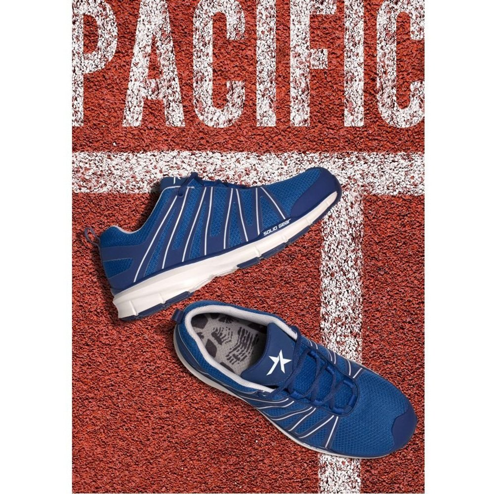 Blue//White Snickers SG8011440 Pacific S1P Safety Shoe 40