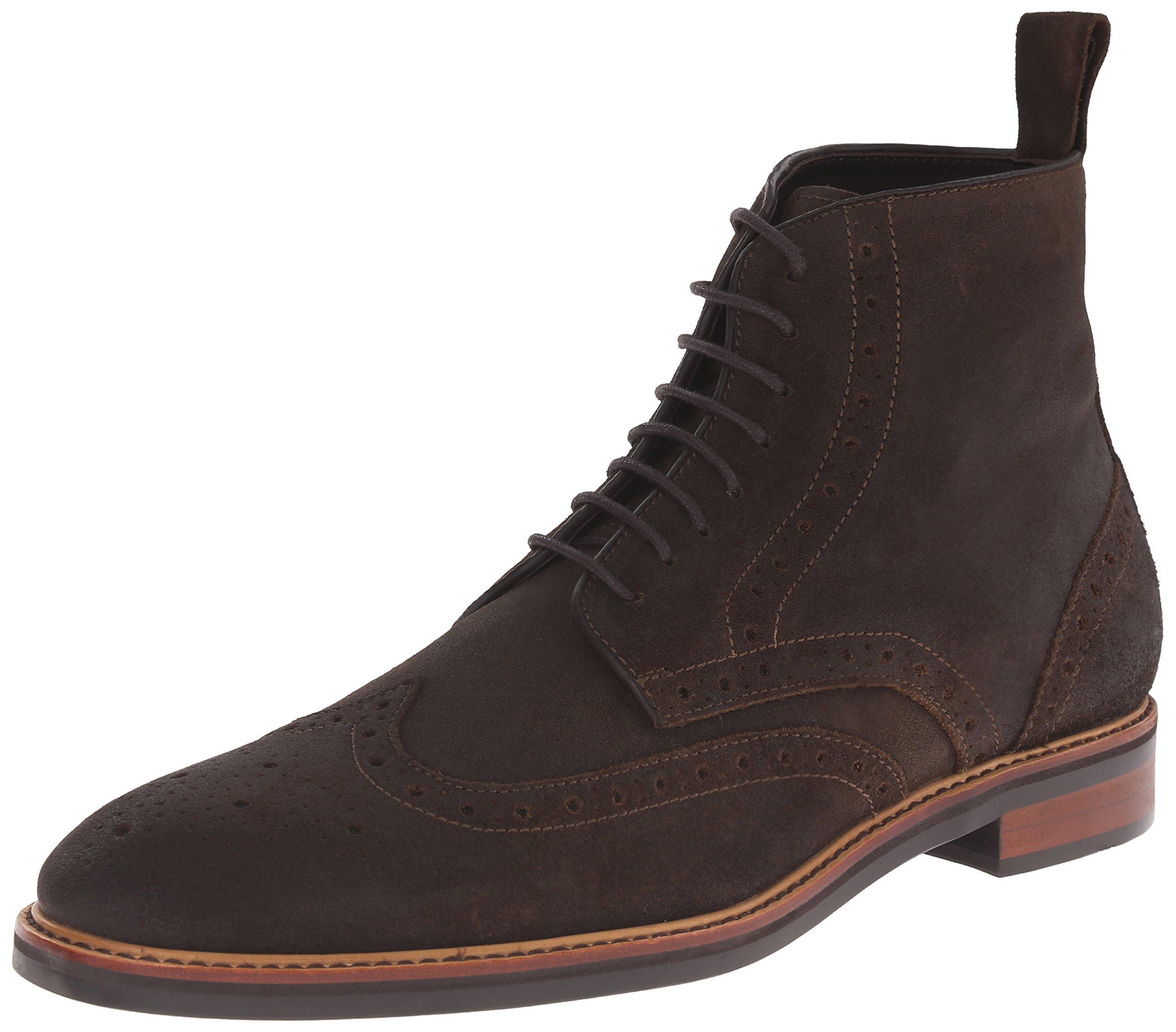 Gordon Rush Men's Stiles Engineer Boot, Dark Brown, 13 M US