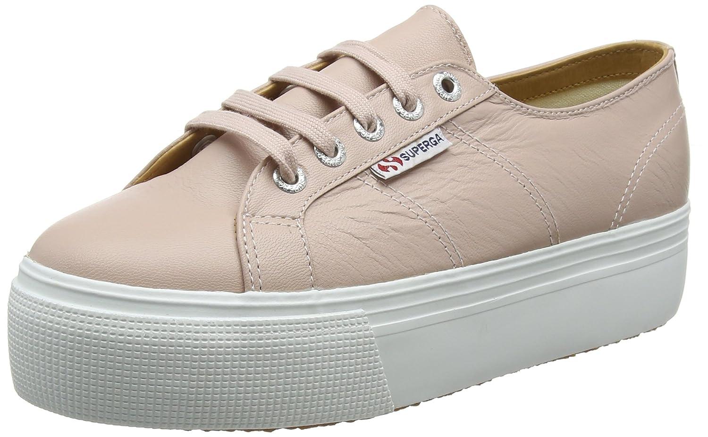 Superga Damen 2790-nappaleaw Sneaker, Skin Weißszlig;, Pink (Pink Skin Sneaker, W6y) ae840c