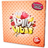 Conversation Cards Game for Couples - Lolly Vibes: for Newlywed, Unmarried & Married Couple - Funny Questions, Tasks & Challenges - Improve Your Relationships and Take Them to a Level - Great Gift