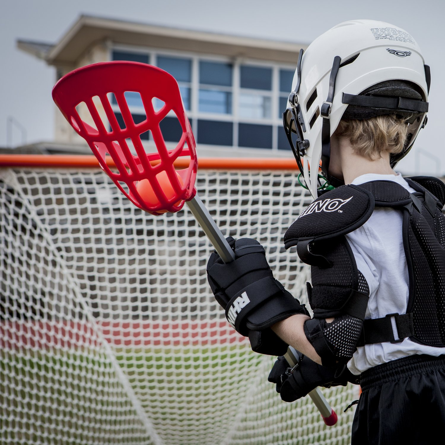 Champion Sports Soft Lacrosse Set: Training Equipment for Boys, Girls, Kids, Youth and Amateur Athletes - 12 Aluminum Sticks and 6 Vinyl Balls for Indoor Outdoor Use by Champion Sports (Image #6)