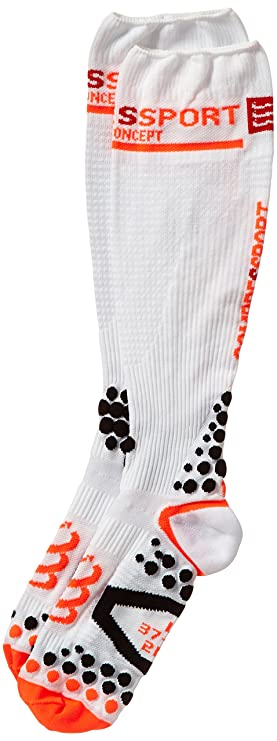 Compressport Calcetines, talla XL (Talla del fabricante : 4M), color blanco