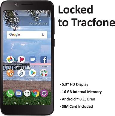 TracFone TCL LX 4G LTE Prepago Smartphone: Amazon.es: Electrónica