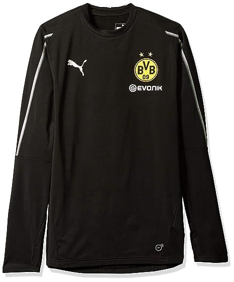 3238f3e0d PUMA Men s BVB Training Sweat with Sponsor Logo at Amazon Men s ...