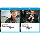 Casino Royale Blu Ray & Quantum of Solace 2 Pack James Bond 007 Daniel Craig Set
