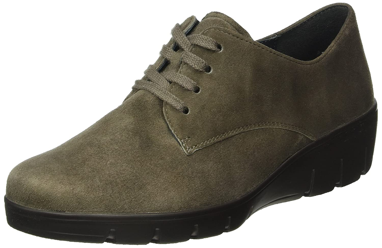 Semler Judith, Zapatos de Cordones Brogue para Mujer 38 2/3 EU|Beige (030 Fango)