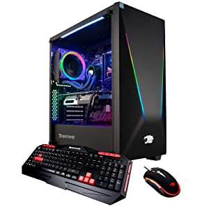 iBUYPOWER Pro Gaming PC Computer Desktop Intel i7-9700K 3.6 GHz, NVIDIA GeForce RTX 2070 Super 8GB, 16GB DDR4, 1TB HDD, 240GB SSD, Z390, Liquid Cooling, Wifi Ready, Windows 10, VR Ready (Trace 9230V2)