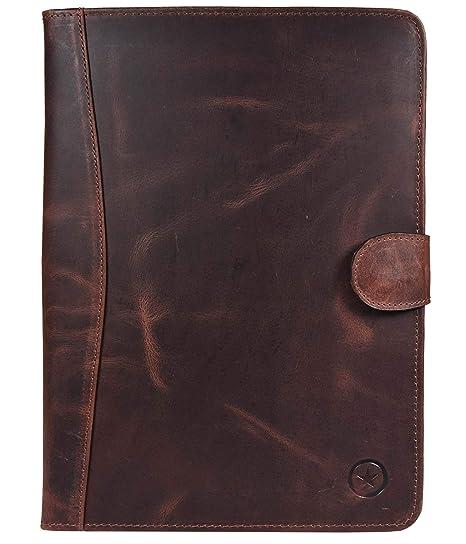 Amazon.com: Aaron Leather - Funda de piel para tableta de ...