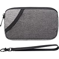 """FIREDOG Odor Proof Bags, Smell Proof Pouch Carbon Lined Travel Stash Storage Smellproof Bags (Grey, 6.5""""x4"""")"""