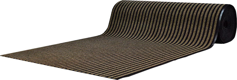Cheapest-carpets Fußmatte Läufer Buenos Aires – 100 x 400 cm – Beige